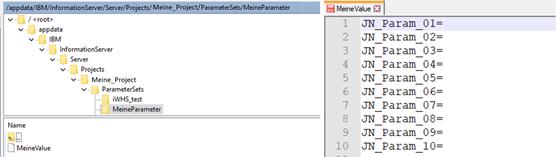 Dynamische Parameter 3