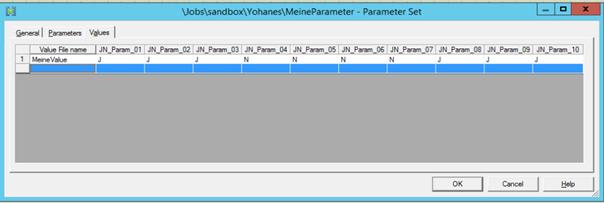 Dynamische Parameter 8