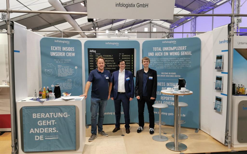 infologistix auf bonding Firmenkontaktmesse Aachen 2019