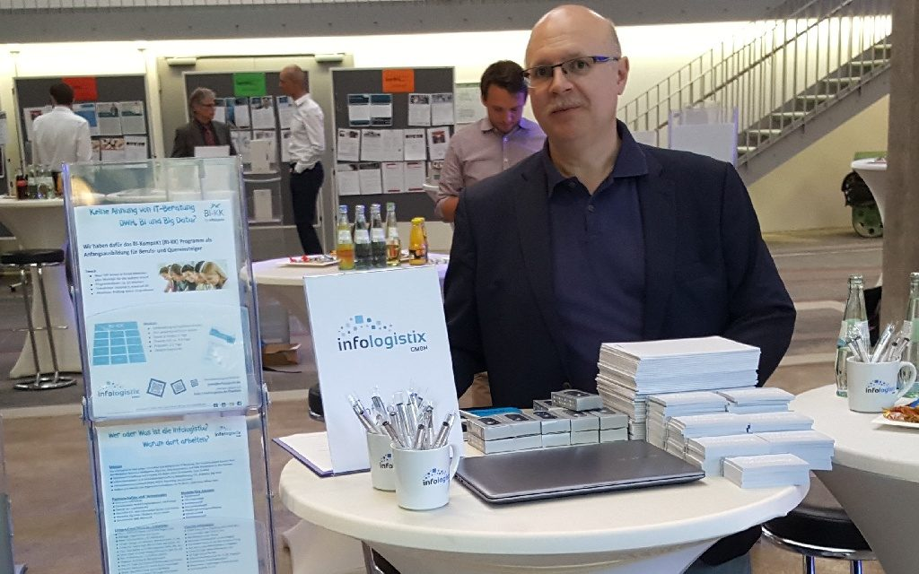 infologistix Messestand